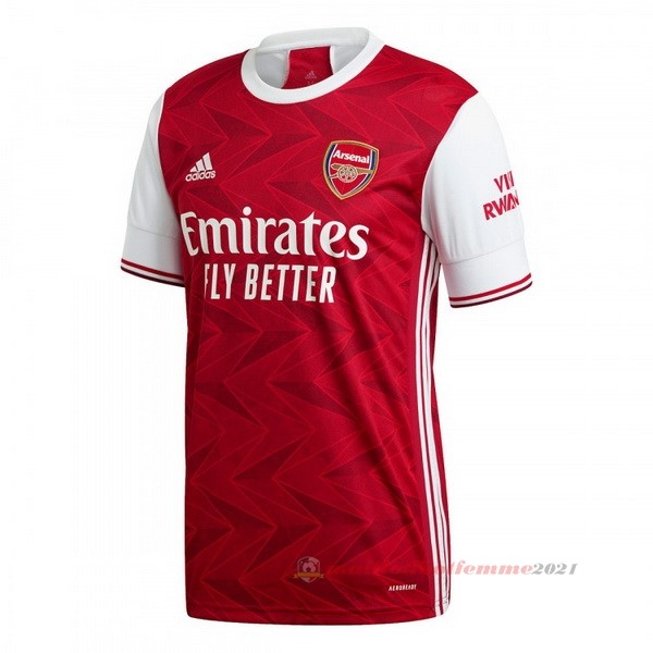 Domicile Maillot Arsenal 2020 2021 Rouge Tee Shirt Foot