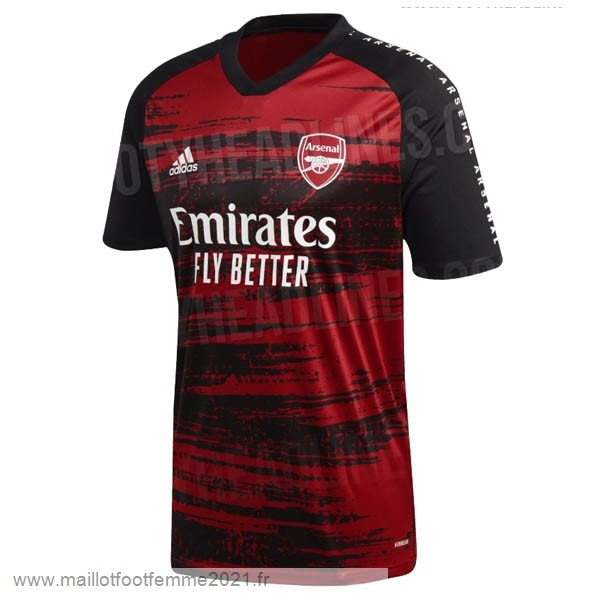 Pre Match Maillot Arsenal 2020 2021 Rouge Tee Shirt Foot