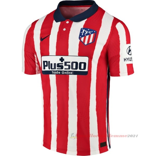 Domicile Maillot Atlético Madrid 2020 2021 Rouge Tee Shirt Foot