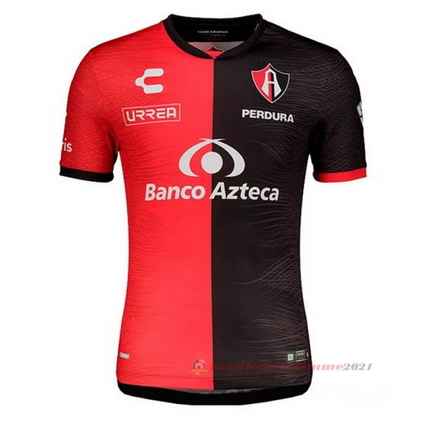 Domicile Maillot Atlas FC 2020 2021 Rouge Tee Shirt Foot
