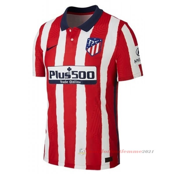 Domicile Maillot Atlético de Madrid 2020 2021 Rouge Tee Shirt Foot