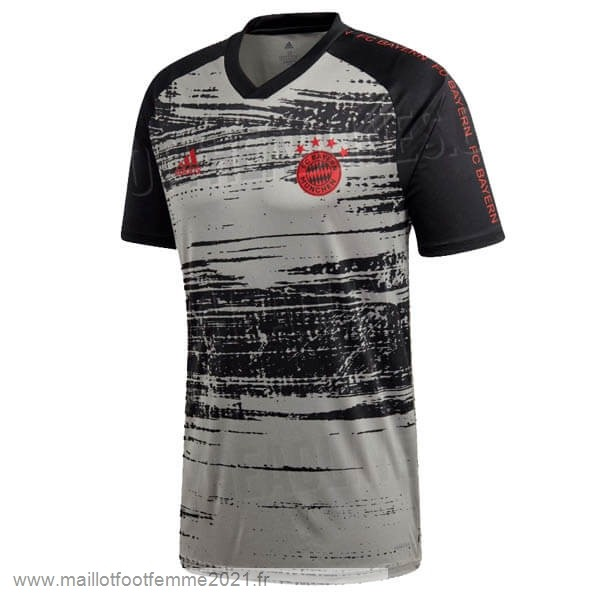 Pre Match Maillot Bayern Munich 2020 Gris Tee Shirt Foot
