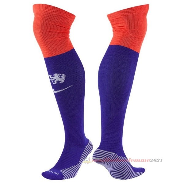 Tercera Calcetines Chelsea 2020 2021 Purpura Tee Shirt Foot