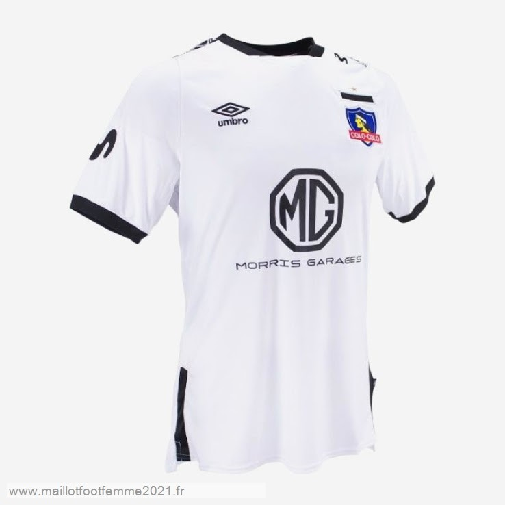 Domicile Maillot Colo Colo 2019 2020 Blanc Tee Shirt Foot