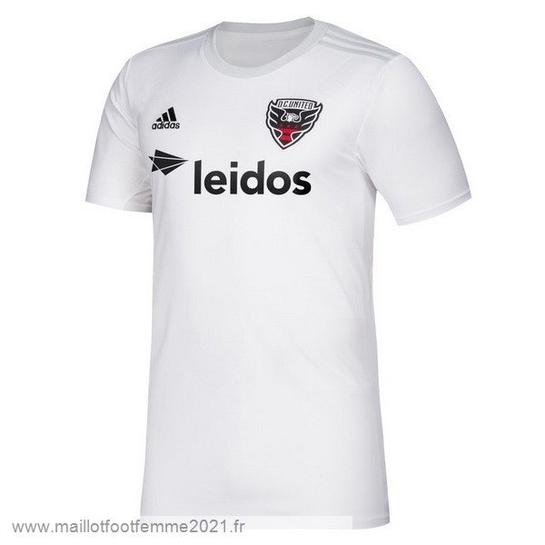 Exterieur Maillot D.C. United 2019 2020 Blanc Tee Shirt Foot