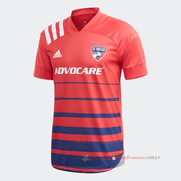 Domicile Maillot FC Dallas 2020 2021 Rouge Tee Shirt Foot