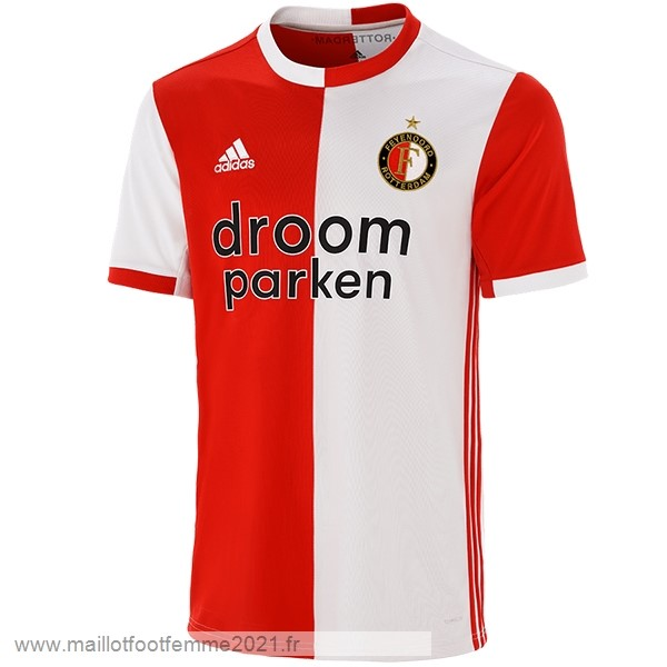 Domicile Maillot Feyenoord Rotterdam 2019 2020 Rouge Tee Shirt Foot
