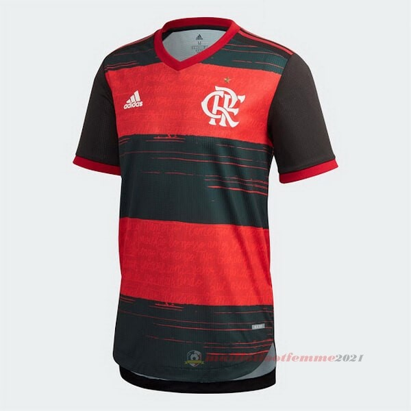 Domicile Maillot Flamengo 2020 2021 Rouge Tee Shirt Foot