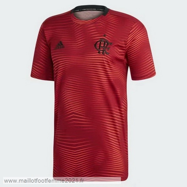 Entrainement Flamengo 2019 2020 Rouge Tee Shirt Foot