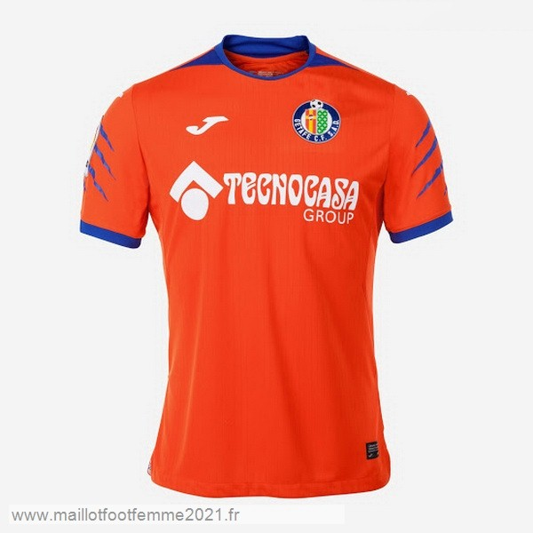 Thailande Exterieur Maillot Getafe 2019 2020 Orange Tee Shirt Foot