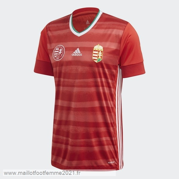 Domicile Maillot Hungría 2020 Rouge Tee Shirt Foot