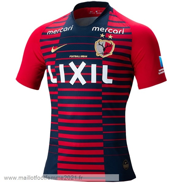Domicile Maillot Kashima Antlers 2019 2020 Rouge Tee Shirt Foot