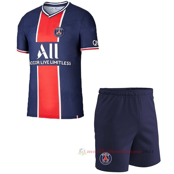 Domicile Conjunto De Enfant Paris Saint Germain 2020 2021 Bleu Tee Shirt Foot