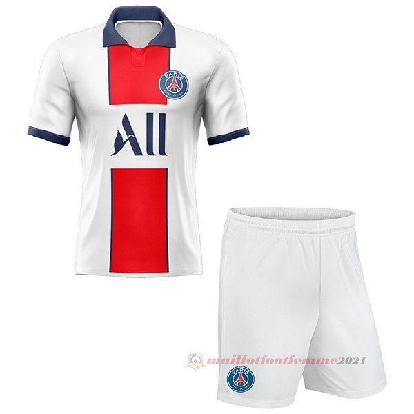 Exterieur Conjunto De Enfant Paris Saint Germain 2020 2021 Blanc Tee Shirt Foot