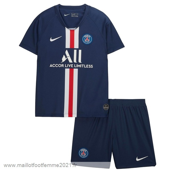 Domicile Conjunto De Enfant Paris Saint Germain 2019 2020 Bleu Tee Shirt Foot