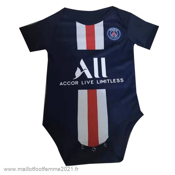 Domicile Onesies Enfant Paris Saint Germain 2019 2020 Bleu Tee Shirt Foot