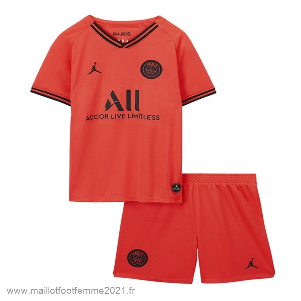 Exterieur Conjunto De Enfant Paris Saint Germain 2019 2020 Orange Tee Shirt Foot