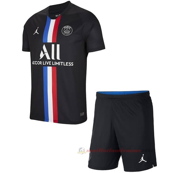 Third Ensemble Enfant Paris Saint Germain 2019 2020 Noir Tee Shirt Foot