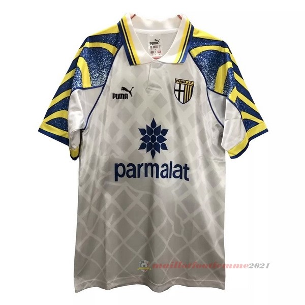 Casa Camiseta Parma Retro 1995 1997 Blanc Tee Shirt Foot
