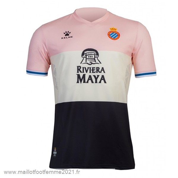 Third Maillot RCD Español 2019 2020 Rose Tee Shirt Foot